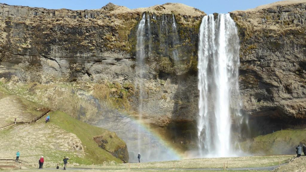 P1040132 Seljalandsfoss waterval