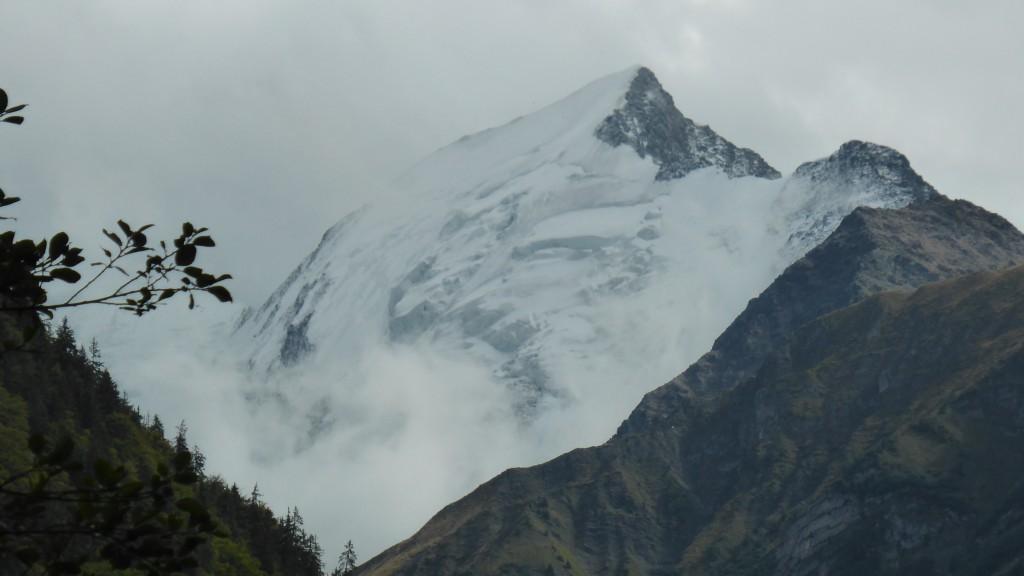 De enige echte piek van de Mont Blanc